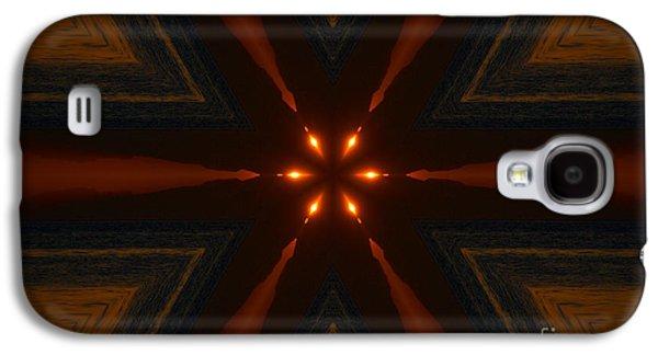 Abstract Digital Art Galaxy S4 Cases - Bright Star Galaxy S4 Case by Elmar Langle