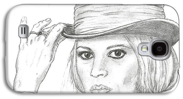 Steven White Galaxy S4 Cases - Brigitte Bardot Galaxy S4 Case by Steven White