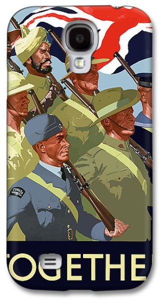 British Empire Soldiers Together Galaxy S4 Case by War Is Hell Store