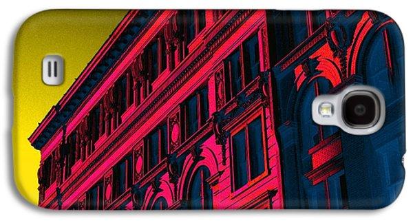 Broadway 118 In Fuschia Galaxy S4 Case by Edgar Farrera