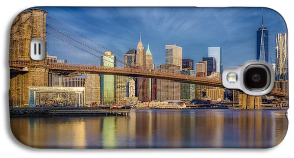 Brooklyn Bridge From Dumbo Galaxy S4 Case by Susan Candelario