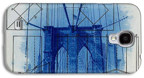 Cities Galaxy S4 Cases - Brooklyn Bridge Galaxy S4 Case by Jane Linders