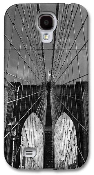 Brooklyn Bridge Digital Galaxy S4 Cases - Brooklyn Bridge Tones Galaxy S4 Case by Jessica Jenney