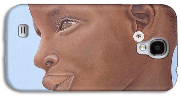 Brown Introspection Galaxy S4 Case by Kaaria Mucherera