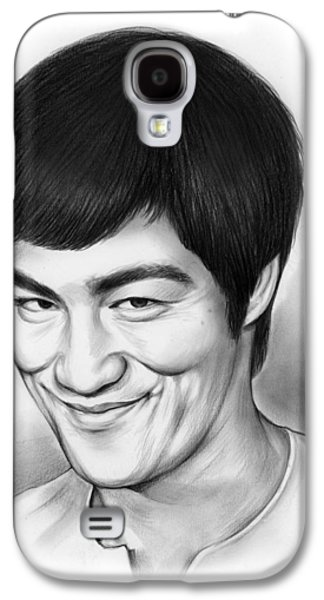 Bruce Lee Galaxy S4 Case by Greg Joens