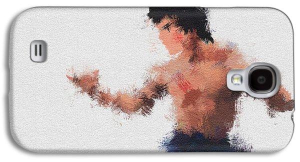 Bruce Lee Galaxy S4 Case by Miranda Sether
