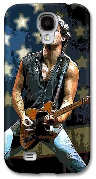 Bruce Springsteen Born To Run Galaxy S4 Case by Lulu Escudero