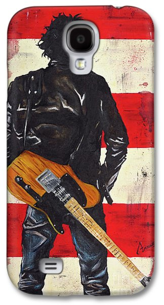 Bruce The Boss Springsteen Galaxy S4 Case by Francesca Agostini