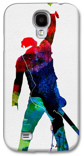 Bruce Watercolor Galaxy S4 Case by Naxart Studio