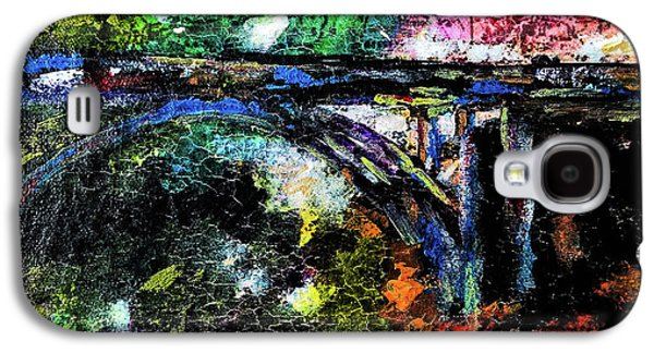 Humbug Galaxy S4 Cases - Brush Creek Bridge Galaxy S4 Case by Lisa McKinney