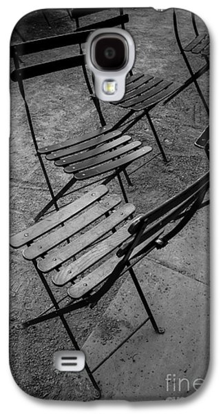 Bryant Park Chairs Nyc Galaxy S4 Case by Edward Fielding