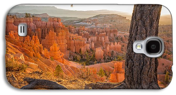 Sun Photographs Galaxy S4 Cases - Bryce Canyon National Park Sunrise 2 - Utah Galaxy S4 Case by Brian Harig