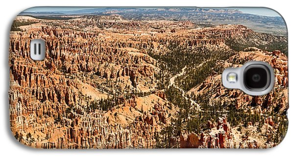 Haybale Galaxy S4 Cases - Bryce Point Galaxy S4 Case by Robert Bales