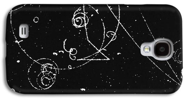 Helium Galaxy S4 Cases - Bubble Chamber Galaxy S4 Case by Rad. Lab./Omikron