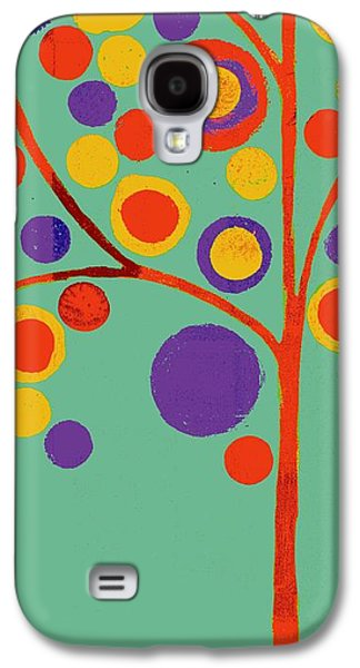 Geometric Shape Galaxy S4 Cases - Bubble Tree - 290l - Pop 01 Galaxy S4 Case by Variance Collections