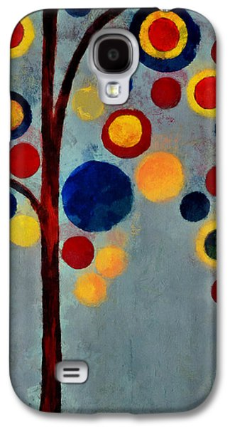 Abstract Realism Galaxy S4 Cases - Bubble Tree - dps02c02f - Right Galaxy S4 Case by Variance Collections