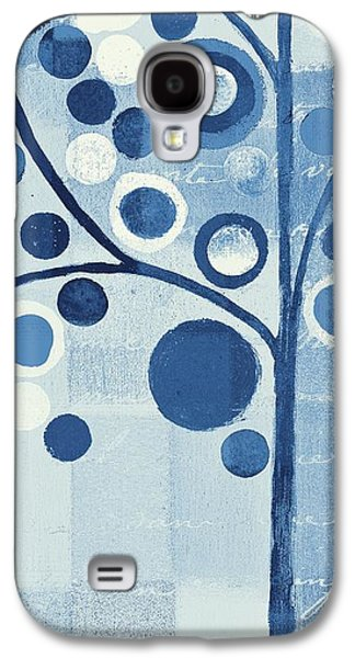 Aimelle Galaxy S4 Cases - Bubble Tree - s290-01l - Blue Galaxy S4 Case by Variance Collections