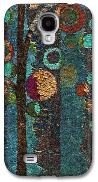 Abstract Realism Galaxy S4 Cases - Bubble Tree - spc02bt05 - Right Galaxy S4 Case by Variance Collections