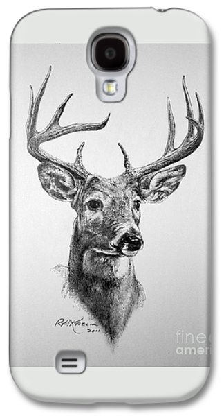 Buck Deer Galaxy S4 Case by Roy Anthony Kaelin