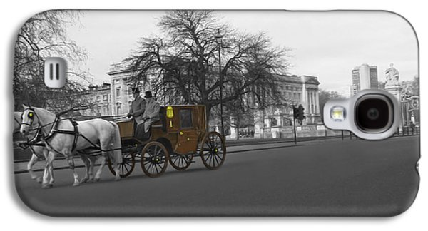 Studio Photographs Galaxy S4 Cases - Buckingham Palace Galaxy S4 Case by Al Bourassa