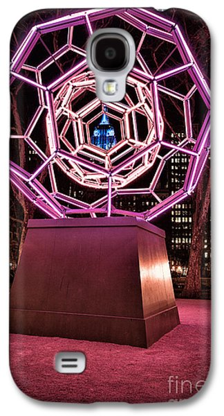 Installation Art Galaxy S4 Cases - bucky ball Madison square park Galaxy S4 Case by John Farnan