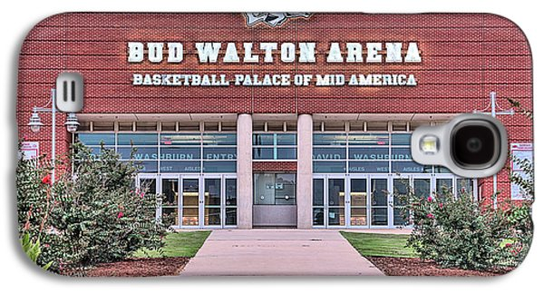 Bud Walton Arena Galaxy S4 Case by JC Findley