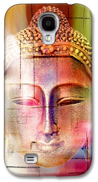 Animation Galaxy S4 Cases - Buddha  4 Galaxy S4 Case by Mark Ashkenazi