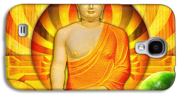 Buddha Balance Galaxy S4 Case by Khalil Houri