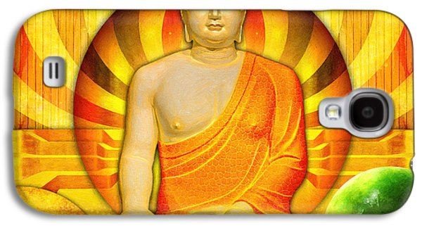 Recently Sold -  - Religious Galaxy S4 Cases - Buddha Balance Galaxy S4 Case by Khalil Houri
