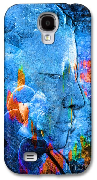 Recently Sold -  - Statue Portrait Galaxy S4 Cases - Buddha Coral Galaxy S4 Case by Khalil Houri