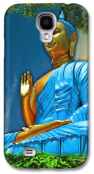 Recently Sold -  - Statue Portrait Galaxy S4 Cases - Buddha Daylight Galaxy S4 Case by Khalil Houri