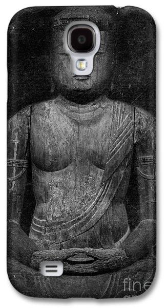 Buddhist Monk Galaxy S4 Cases - Buddha Galaxy S4 Case by Edward Fielding
