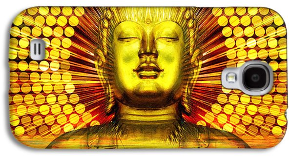 Buddha Effulgence Galaxy S4 Case by Khalil Houri