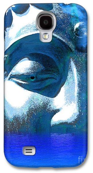 Recently Sold -  - Statue Portrait Galaxy S4 Cases - Buddha Emergence Galaxy S4 Case by Khalil Houri