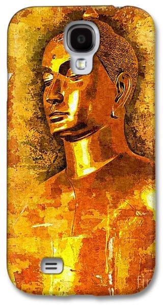 Buddha Grace Galaxy S4 Case by Khalil Houri