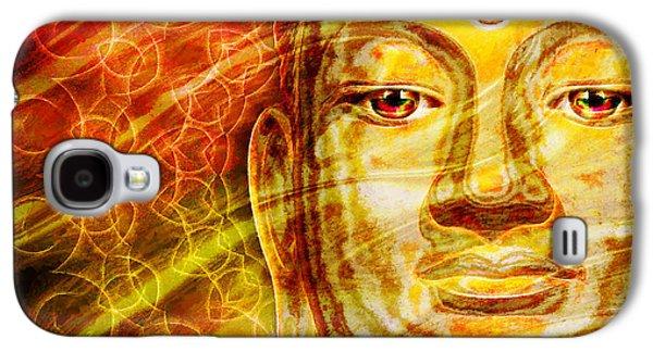 Buddha Mandala Galaxy S4 Case by Khalil Houri