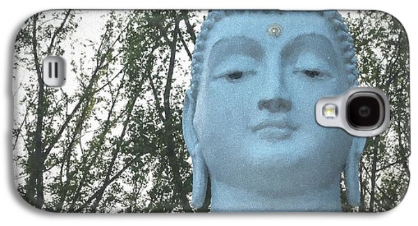Statue Portrait Galaxy S4 Cases - Buddha Nature Galaxy S4 Case by Terry DeLuco