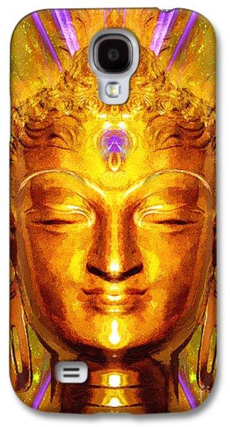 Buddha Smile Galaxy S4 Case by Khalil Houri