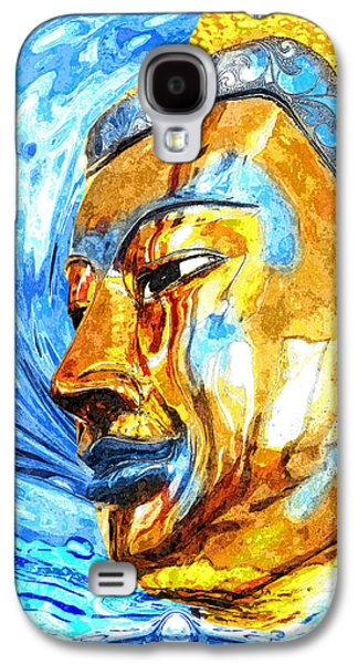 Buddha Surf Galaxy S4 Case by Khalil Houri
