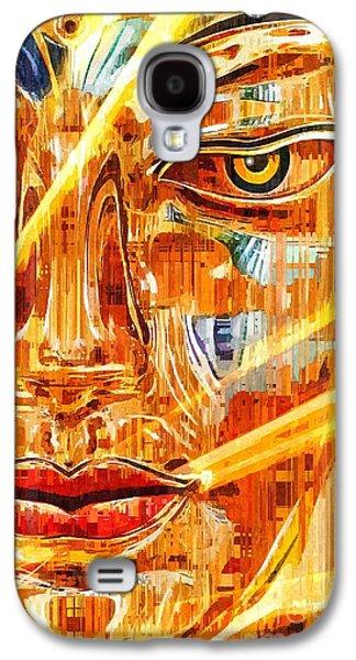Buddha Titanium Galaxy S4 Case by Khalil Houri