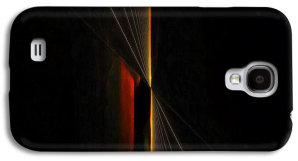 Nature Abstract Galaxy S4 Cases - Buddhabrot #4 Galaxy S4 Case by Lee Noel