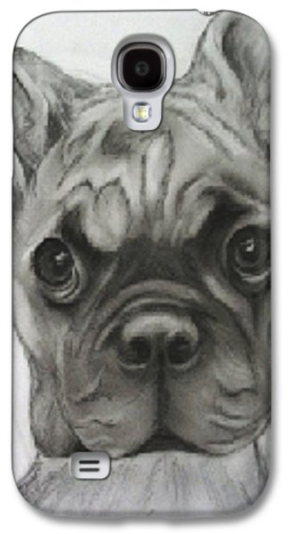Puppies Galaxy S4 Cases - Buddy Bulldog Galaxy S4 Case by Jacquie King