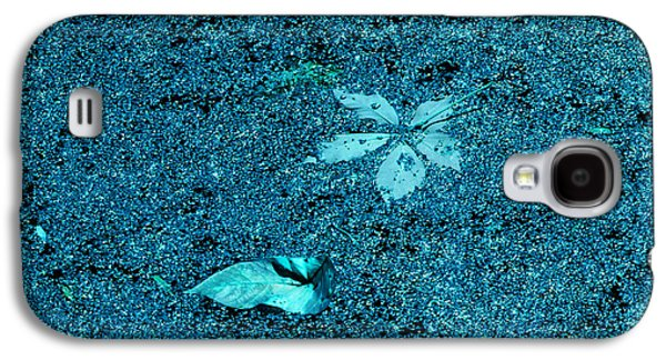 Drawing Galaxy S4 Cases - Bue Algae Galaxy S4 Case by Phil Welsher