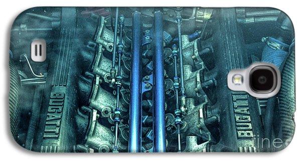 Bugatti Eb110 V12 Engine Galaxy S4 Case by Tim Gainey