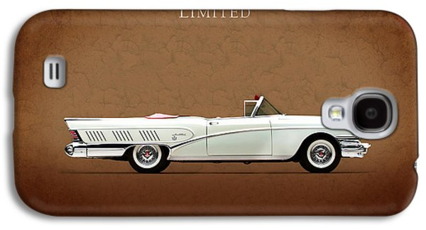 Limited Galaxy S4 Cases - Buick Limited 1958 Galaxy S4 Case by Mark Rogan