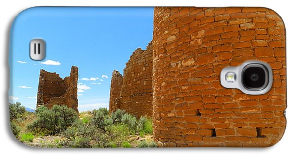 Landmarks Photographs Galaxy S4 Cases - Buildings at Hovenweep Galaxy S4 Case by Jeff  Swan
