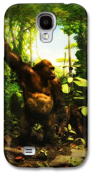 Gorilla Digital Galaxy S4 Cases - Bungle In the Jungle Galaxy S4 Case by Bill Cannon