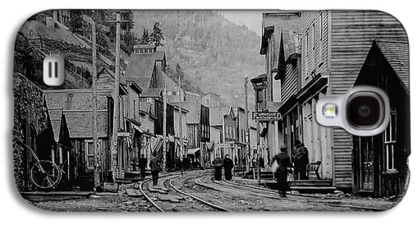 Mining Photos Galaxy S4 Cases - BURKE IDAHO GHOST TOWN in its PRIME Galaxy S4 Case by Daniel Hagerman
