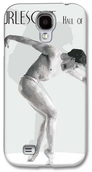 Digital Abstract Drawings Galaxy S4 Cases - Burlesque By Quim Abella Galaxy S4 Case by Joaquin Abella