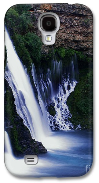 Stream Galaxy S4 Cases - Burney Blues Galaxy S4 Case by Peter Piatt